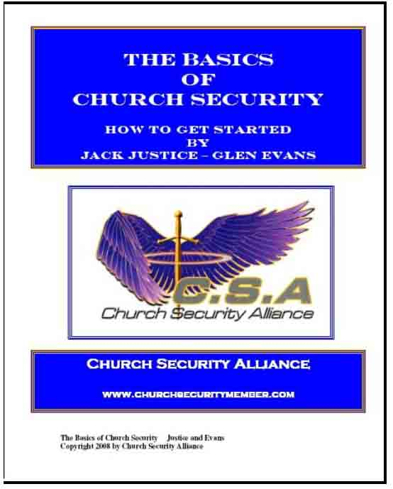 Church Security Team Manual  Church Security Site For Church Safety
